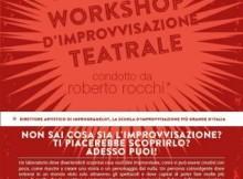 workshop improvvisazione teatrale Roberto Rocchi Mantova 2016