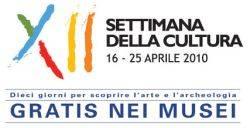 XII Settimana della Cultura 16-25 aprile 2010