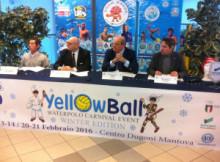 Yellow Ball Waterpolo Carnival Event Mantova 2016
